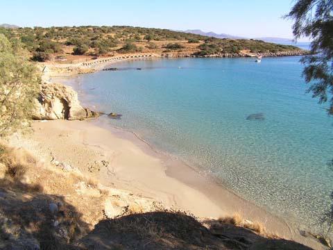 Прекрасный пляж Вулизма на Крите